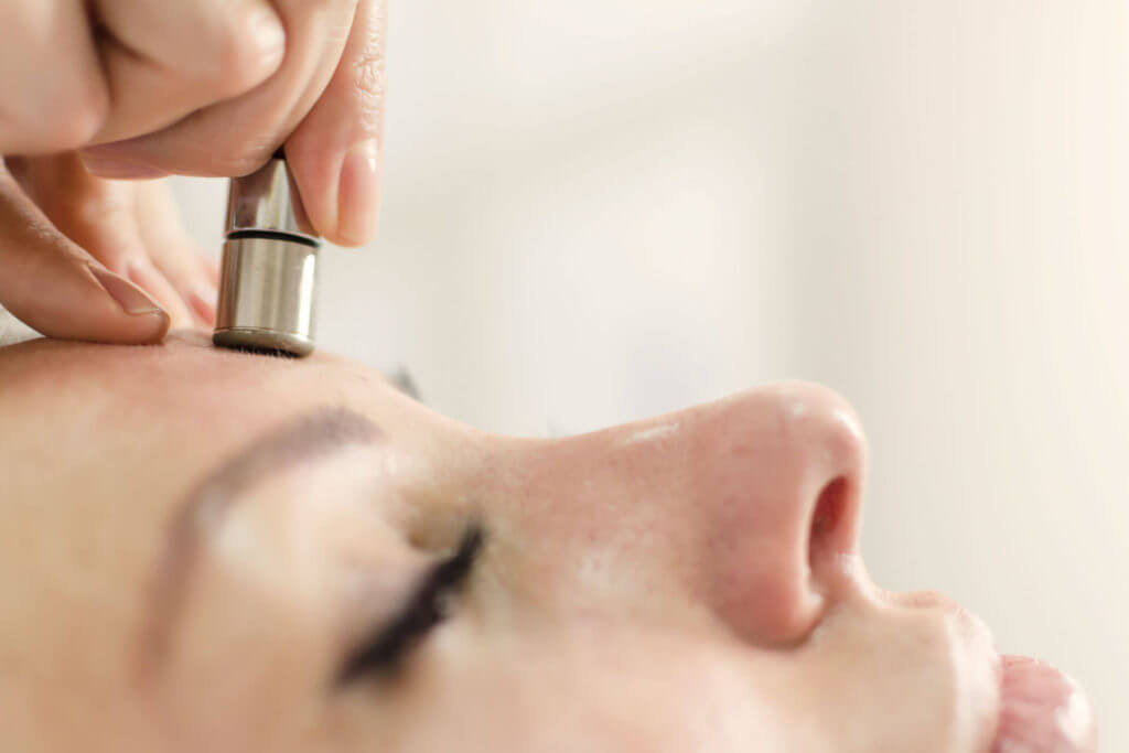 Microdermabrasion bei Cleanskin