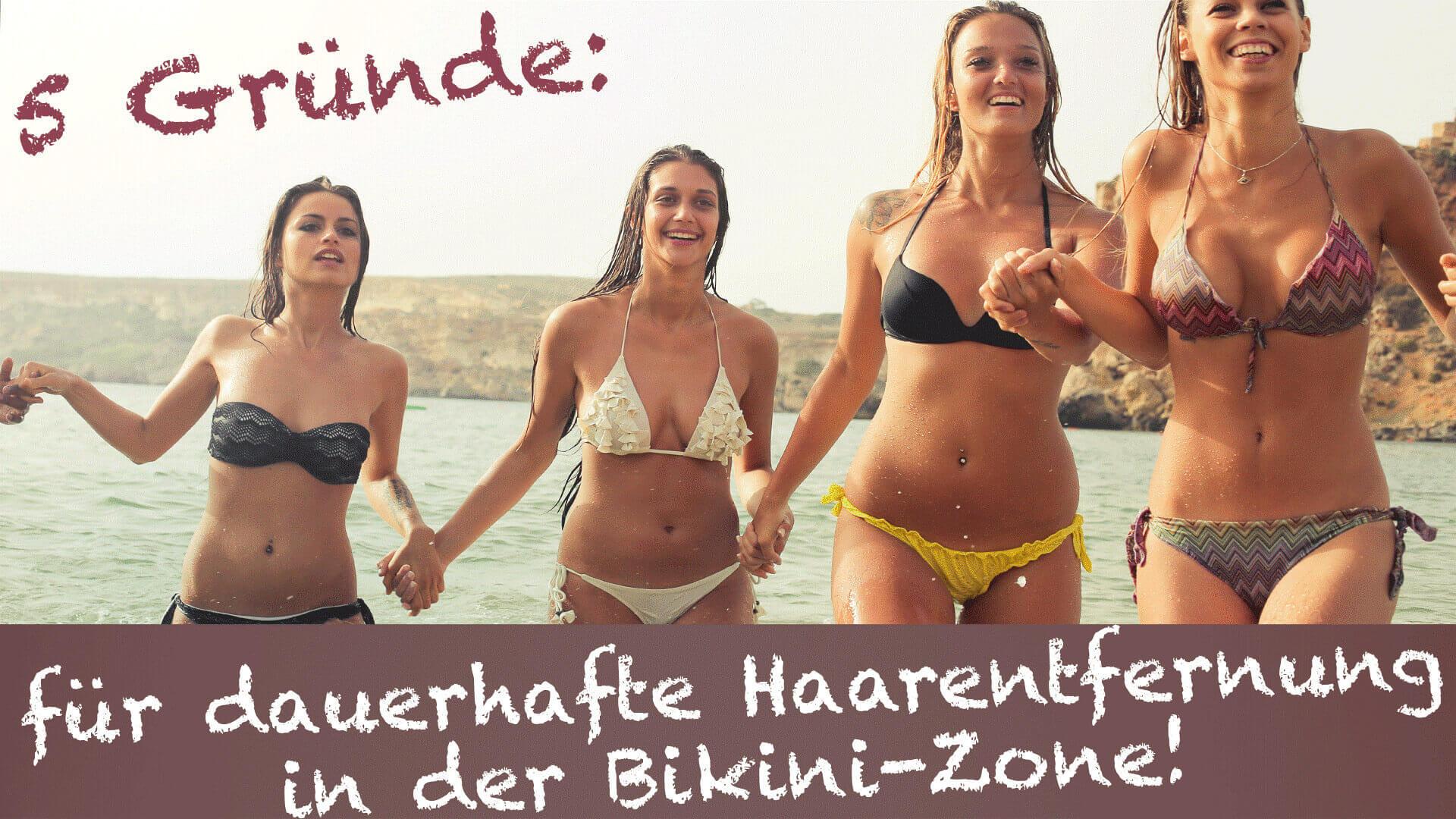 5 Gruende dauerhafte Haarentfernung Bikini Zone