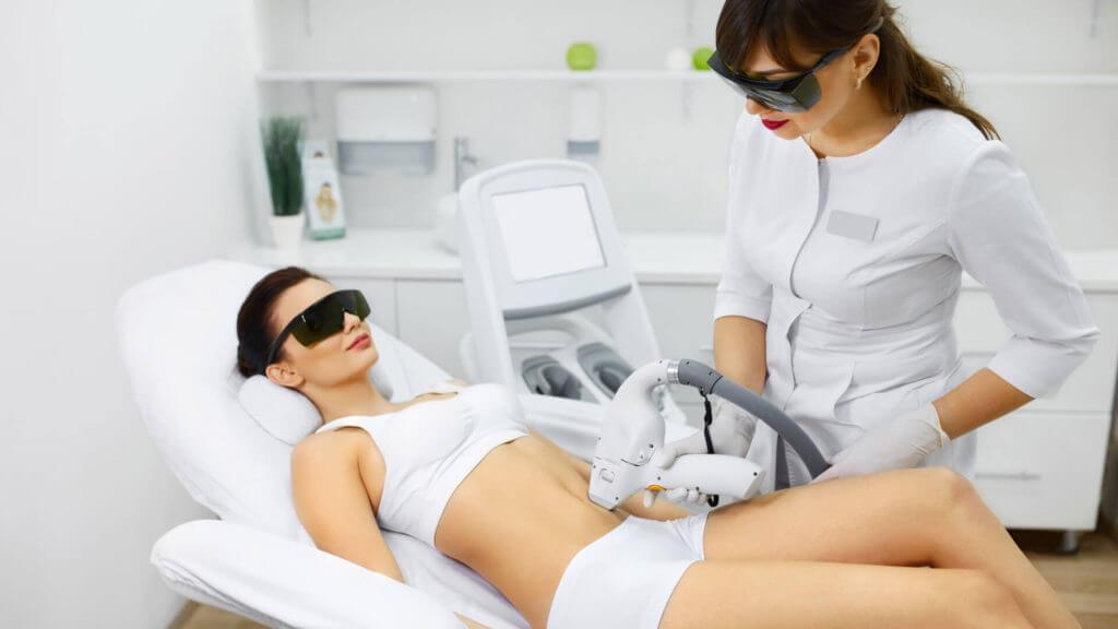 Dauerhafte Haarentfernung Laser