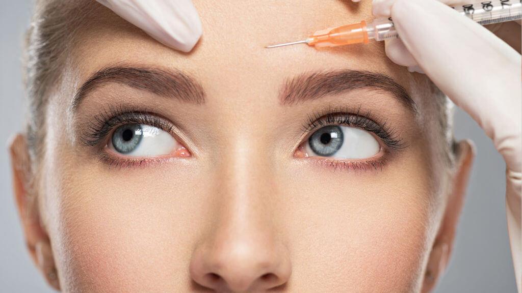 Falten mit Botox behandeln